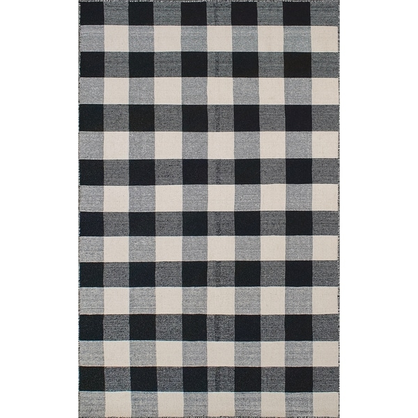Black And White Plaid Rug Uniquely Modern Rugs