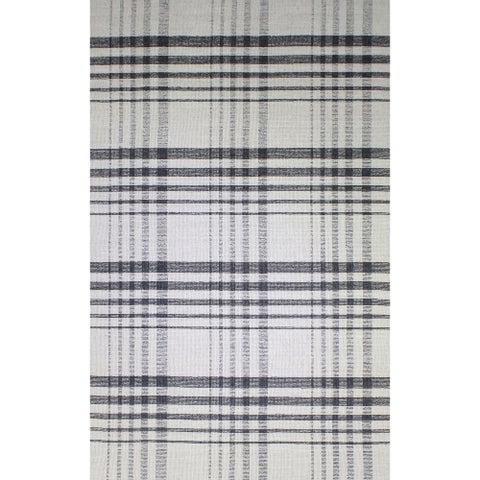 Royal Beige/Charcoal Rug - 8 x 10