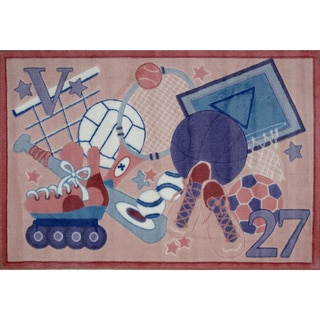 Sports Star Accent Rug (3'3 x 4'8 )
