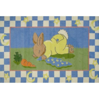 SleepyTime Multicolored Accent Rug (3'3 x 4'8 )