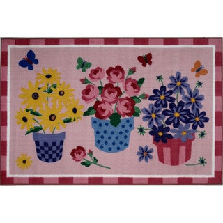 Summer Multicolored Accent Rug (3'3 x 4'8 )
