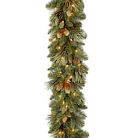 Carolina Pine 108-inch Garland with 100 Clear Lights