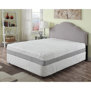 12-inch Queen Green Tea Infused Memory Foam Mattress