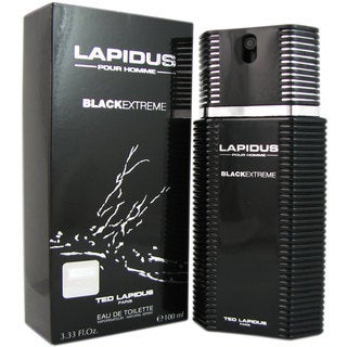 Ted Lapidus Black Extreme Men's 3.33-ounce Eau de Toilette Spray