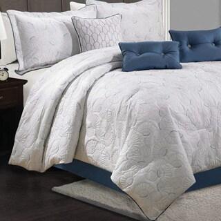 Lauren Taylor - Fanie 7pc Quilted Comforter Set