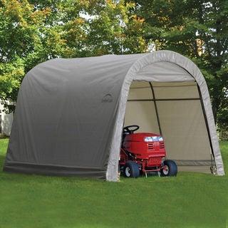 ShelterLogic 70403 Shed and Storage Series Grey Shed