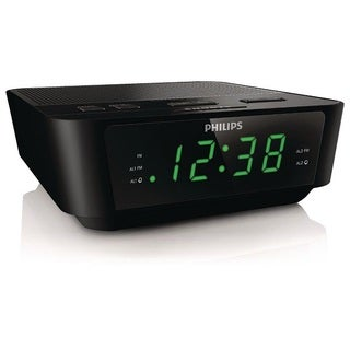 Philips Black Digital Tuning Clock Radio
