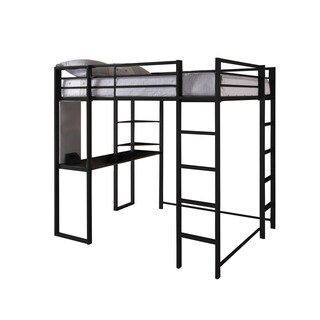 DHP Abode Full Size Metal Loft Bed (2 options available)