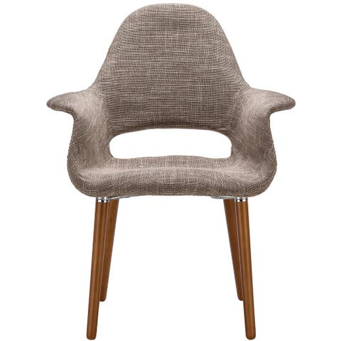 EdgeMod Barclay Dining Chair in Taupe (Set of 2)
