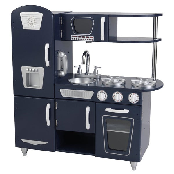 Shop KidKraft Navy Vintage Kitchen