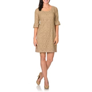 Rabbit Rabbit Rabbit Designs Women's Lace Dress (Option: 10)