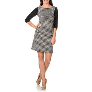 Rabbit Rabbit Rabbit Designs Women's Fitted Knit Dress