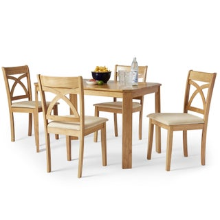 Simple Living 5-piece Verbena Dining Set (2 options available)