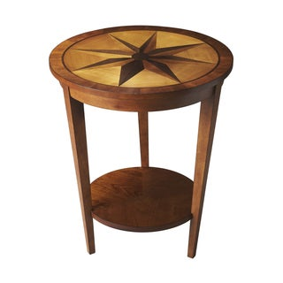 Handmade Honey Maple Parquet Table (China)
