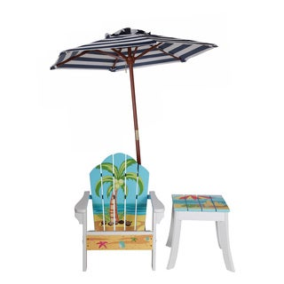 Teamson Winland Palm Tree Outdoor Table and Chair Set