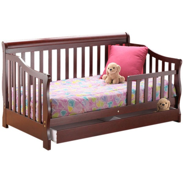 Shop Orbelle Toddler Bed With Storage Drawer Free Shipping Today