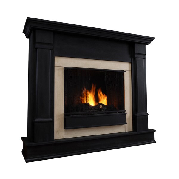 Silverton Gel Fireplace Black by Real Flame