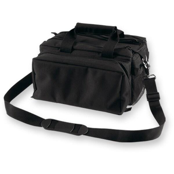 Bulldog Deluxe Black Range Bag with Strap