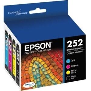 Epson DURABrite Ultra T252 Original Ink Cartridge Multi-pack - Cyan,