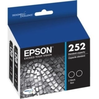 Epson DURABrite Ultra T252 Original Ink Cartridge Dual Pack - Black