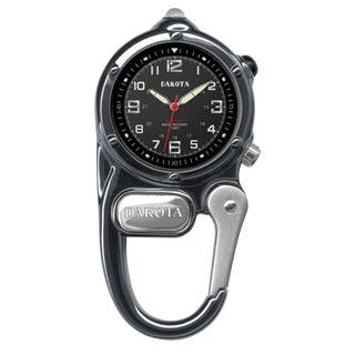 Dakota Men's Gunmetal Mini Clip Microlight Watch