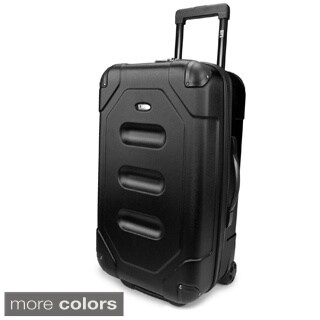 U.S. Traveler by Traveler's Choice Long Haul 24-inch Meduim Cargo Trunk Upright Suitcase