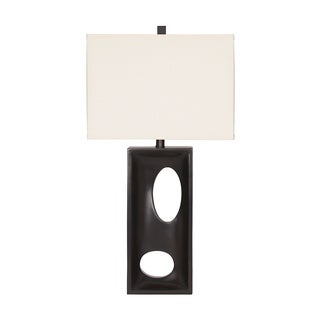 Signature Design by Ashley Maxine Black Poly Table Lamps (Set of 2)