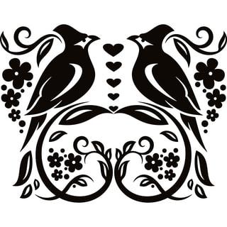 Design on Style Two Birds' Vinyl Lettering