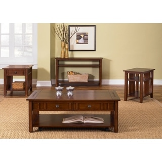 Prairie Hills Satin Cherry Sofa Table