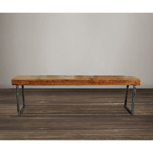 Atlas Reclaimed Wood 36 Inch Bench Free Shipping Today 16612088