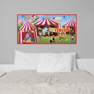 Peel and Stick Classic Circus Mural