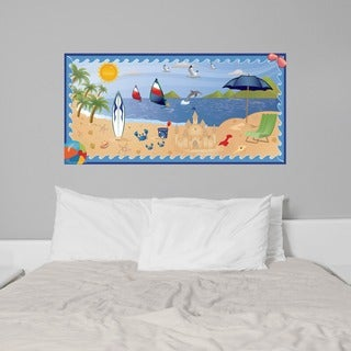 Peel and Stick Beach Boy Mural