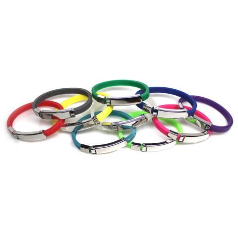 Handmade AIDS Awareness Jelly Bracelets (China)