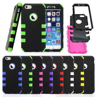Gearonic Rugged Hard PC Soft Silicone Case Cover for Apple iPhone 6
