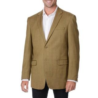 Prontomoda Italia Men's Toast Wool/ Cashmere Sportcoat