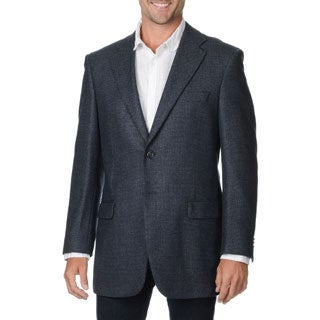 Prontomoda Italia Men's Grey Wool/ Cashmere Sportcoat