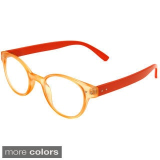 Hot Optix Unisex Round Retro Reading Glasses