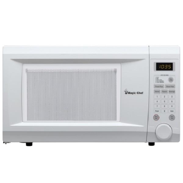 Shop Magic Chef Mcd1110wb White Countertop Microwave