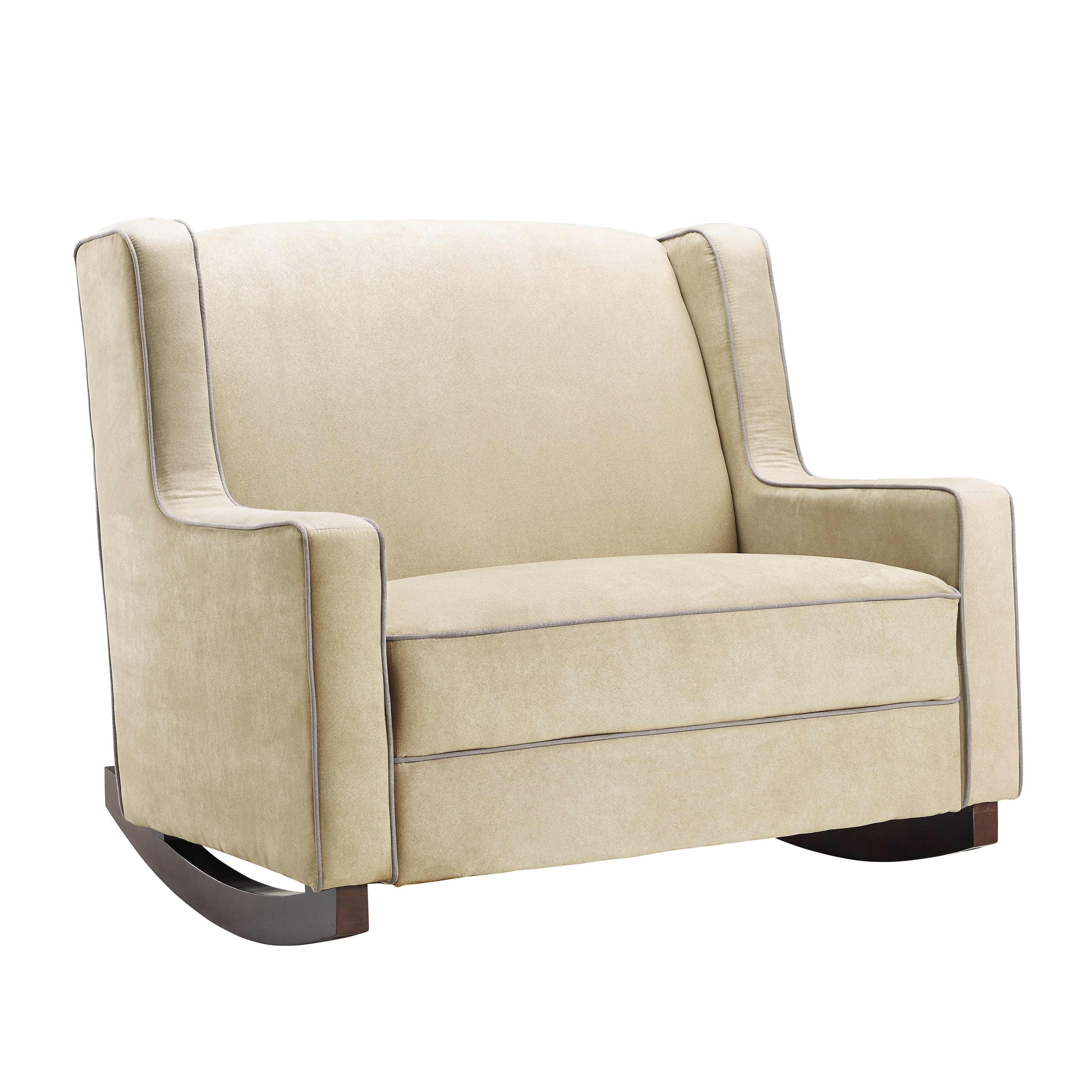 Baby Relax Hadley Microfiber Double Rocker Free Shipping Today