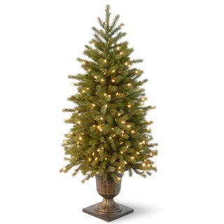 4-foot Jersey Fraser Fir Entrance Tree with Clear Lights