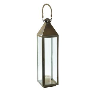 Hudson Valley Antique Brass Lantern
