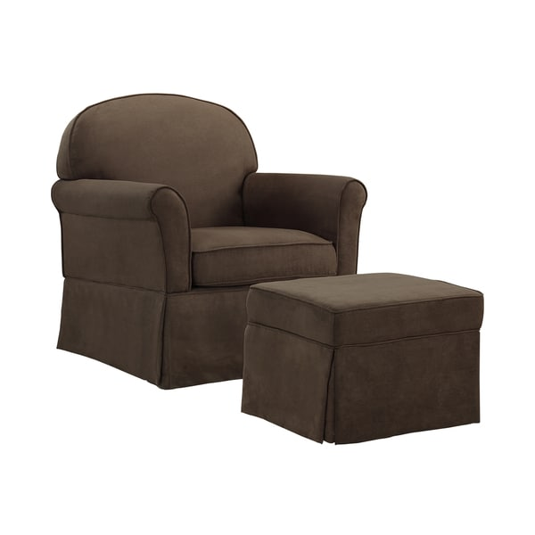 Baby Relax Swivel Glider And Ottoman Set Free Shipping