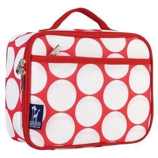 Wildkin Big Dot Red/ White Lunch Box