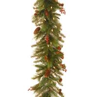 6-foot Noelle Garland with 60 Soft White LED Lights