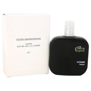 Lacoste Eau de Lacoste L.12.12 Noir Men's 3.3-ounce Eau de Toilette Spray (Tester)