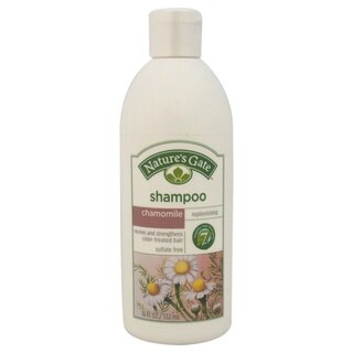 Chamomile Replenishing Shampoo by Nature's Gate for Unisex - 18-ounce Shampoo