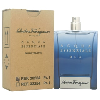 Salvatore Ferragamo Acqua Essenziale Blu Men's 3.4-ounce Eau de Toilette Spray (Tester)