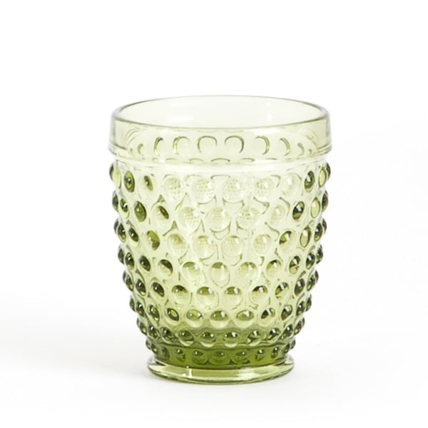 Transparent Hobnail Tumbler Glass Set Of 6 Free