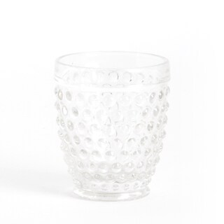 Hobnail Low Ball Tumbler Glass (Set of 6)
