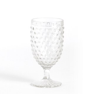 Hobnail Tall Goblet Glass (Set of 6)